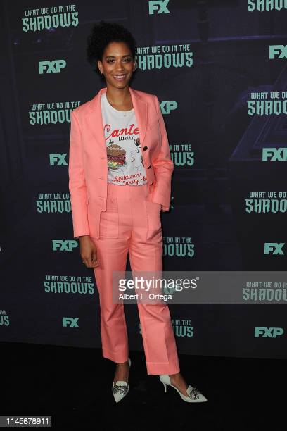 Stefani Robinson attends the FYC Event Of FX's What We Do In The Shadows held at Avalon Hollywood on May 22 2019 in Los Angeles California