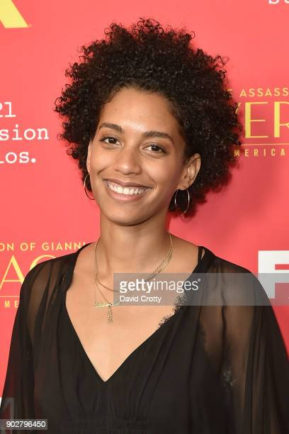 Stefani Robinson attends the Premiere Of FX's The Assassination Of Gianni Versace American Crime Story Arrivals at ArcLight Hollywood on January 8...