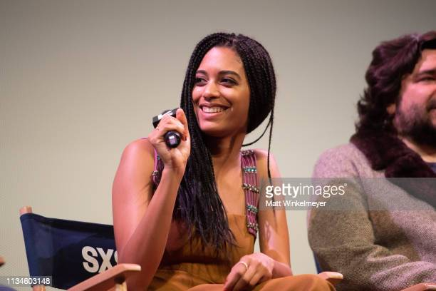 """Stefani Robinson attends the """"What We Do in the Shadows"""" Premiere 2019 SXSW Conference and Festivals at the Paramount Theater at Stateside Theater on..."""