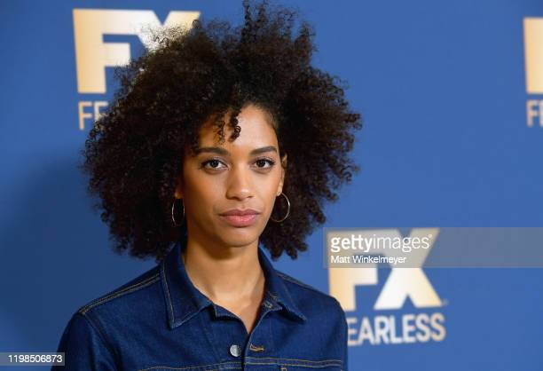 Stefani Robinson of 'What We Do in the Shadows' attends the FX Networks' Star Walk Winter Press Tour 2020 at The Langham Huntington Pasadena on...