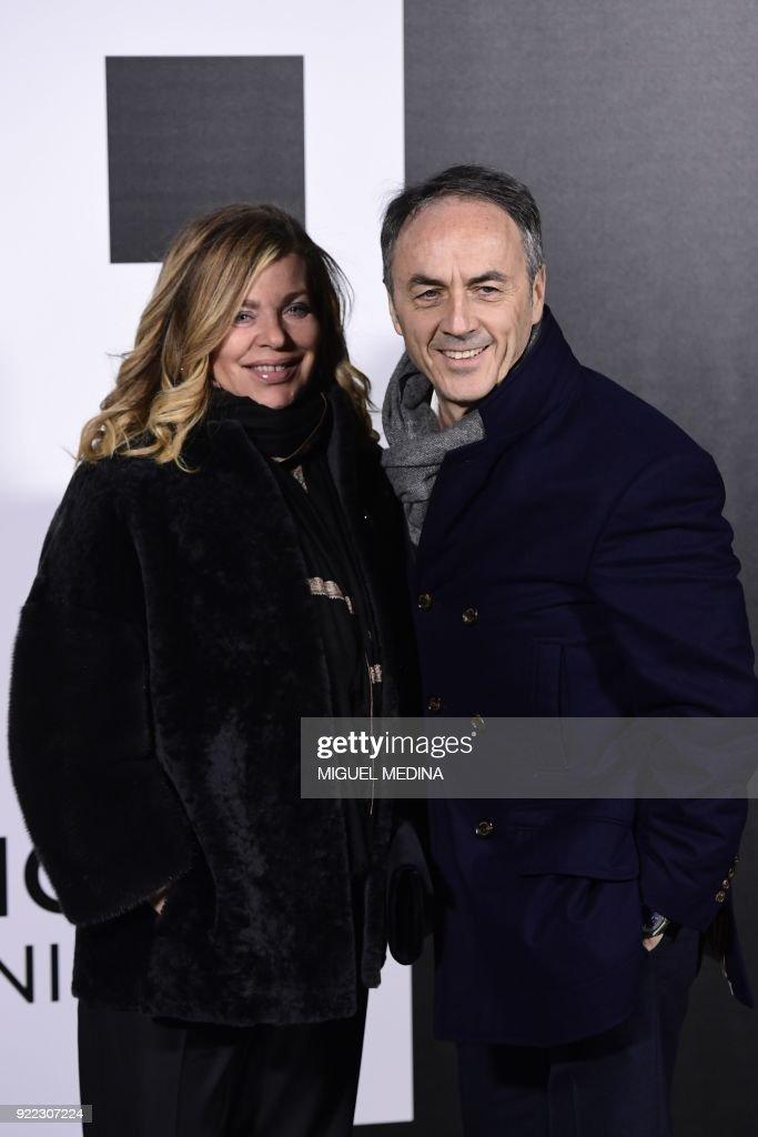 FASHION-ITALY-MONCLER-PHOTOCALL-CELEBS : News Photo