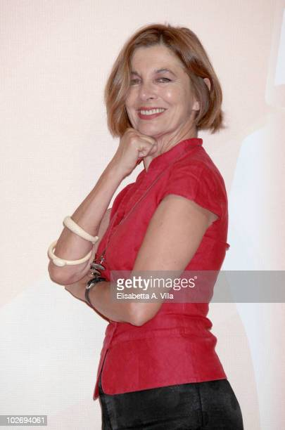 Stefania Casini attends a photocall during the Rome Fiction Fest at Adriano Cinema on July 7 2010 in Rome Italy