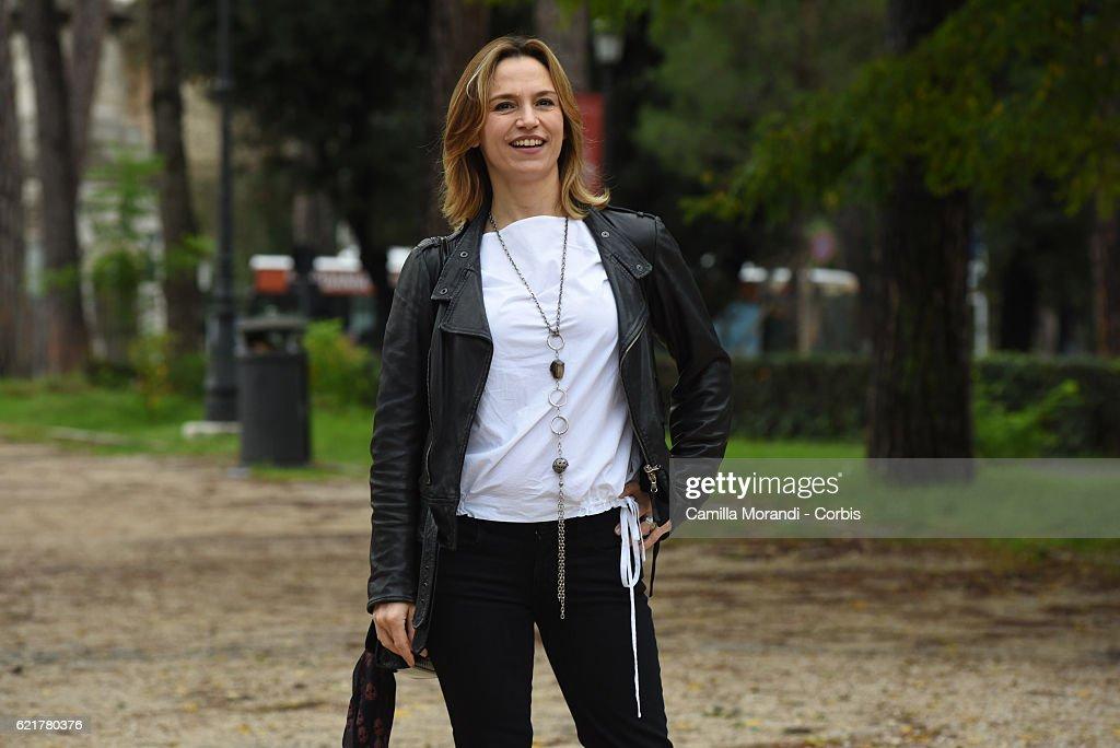 Stefania Montorsi attends a photocall for 'La Ragazza Del Mondo' on November 8, 2016 in Rome, Italy.