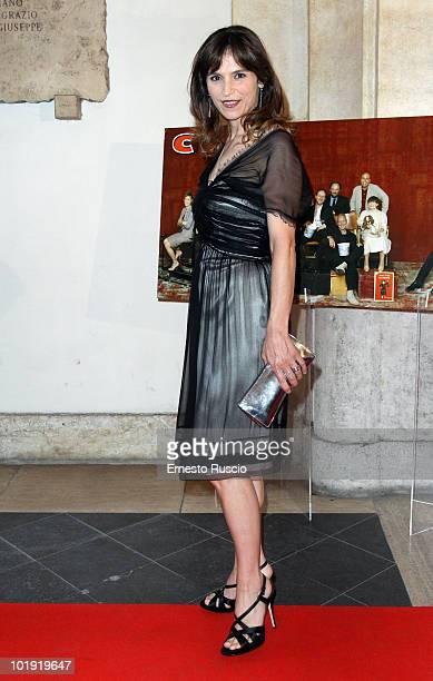 Stefania Montorsi attends the 'Ciak D'Oro' awards ceremony at Palazzo Valentini on June 8 2010 in Rome Italy