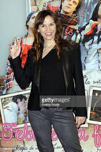 Stefania Montorsi attends the 'Febbre Da Fieno' premiere at Emassy Cinema on January 27 2011 in Rome Italy
