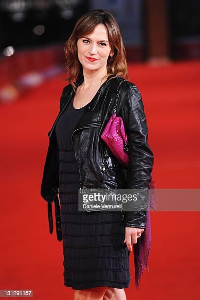 Stefania Montorsi attends the Officine Artistiche during the 6th International Rome Film Festival at Auditorium Parco Della Musica on November 3 2011...
