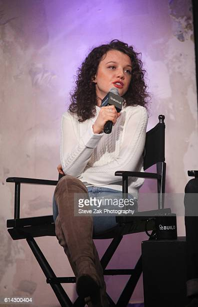 Stefania Owen attends Build Series to discuss her new movie 'Coming Through The Rye' at AOL HQ on October 13 2016 in New York City
