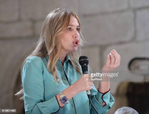 Stefania Prestigiacomo of Forza Italia party takes part at the presentation of Movement's Parliamentary candidates for the upcoming General election...
