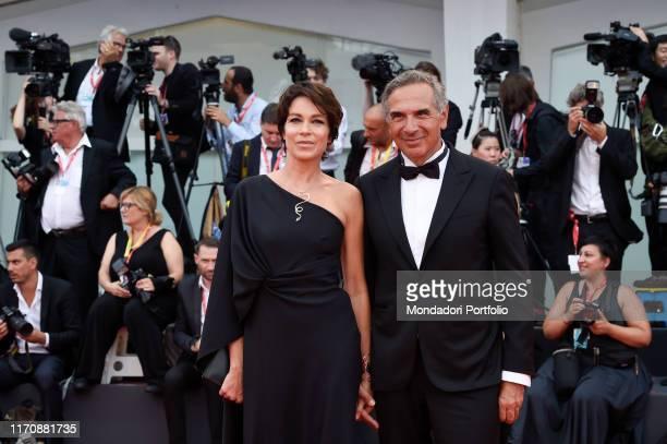 Stefania Rocca Carlo Capasa at the 76th Venice International Film Festival 2019 Opening ceremony and premiere of the film La Veritè Venice August...