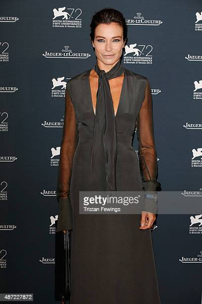 Stefania Rocco attends the JaegerLeCoultre gala event celebrating 10 years of partnership with La Mostra Internazionale d'Arte Cinematografica di...