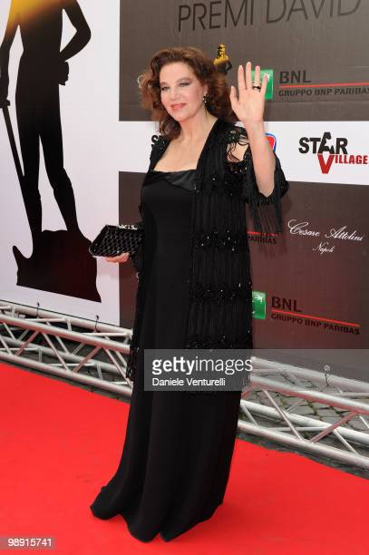 Stefania Sandrelli attends the 'David Di Donatello' Italian Movie Awards held at the Auditorium Conciliazione on May 7 2010 in Rome Italy