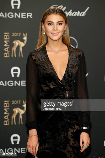 Stefanie Giesinger arrives at the Bambi Awards 2017 at Stage Theater on November 16 2017 in Berlin Germany