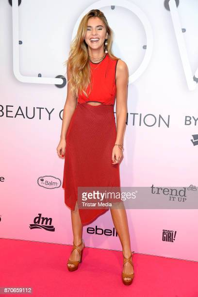 Stefanie Giesinger attends the GLOW The Beauty Convention at Station on November 4 2017 in Berlin Germany