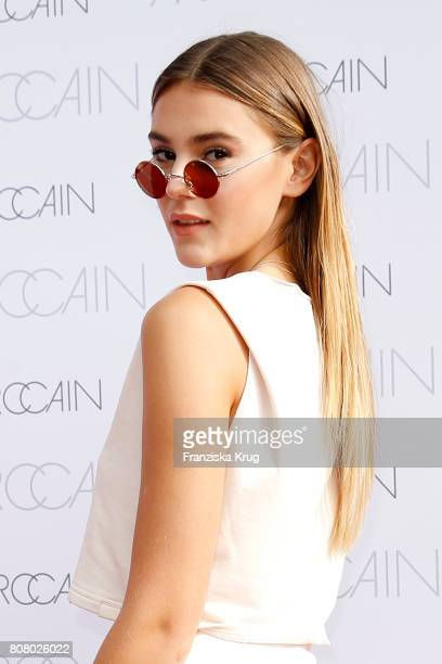 Stefanie Giesinger attends the Marc Cain Fashion Show Spring/Summer 2018 at ewerk on July 4 2017 in Berlin Germany