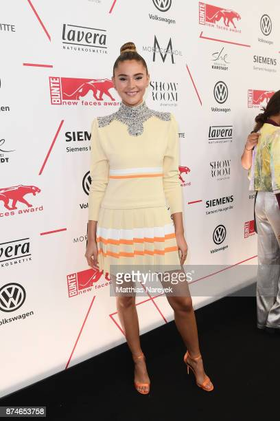Stefanie Giesinger attends the New Faces Award Style 2017 at The Grand on November 15 2017 in Berlin Germany