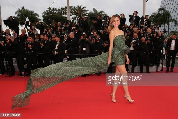Stefanie Giesinger attends the screening of Pain And Glory during the 72nd annual Cannes Film Festival on May 17 2019 in Cannes France