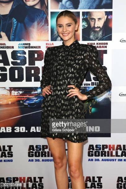 Stefanie Giesinger during the ''Asphaltgorillas' premiere at Kino in der KulturBrauerei on August 21 2018 in Berlin Germany