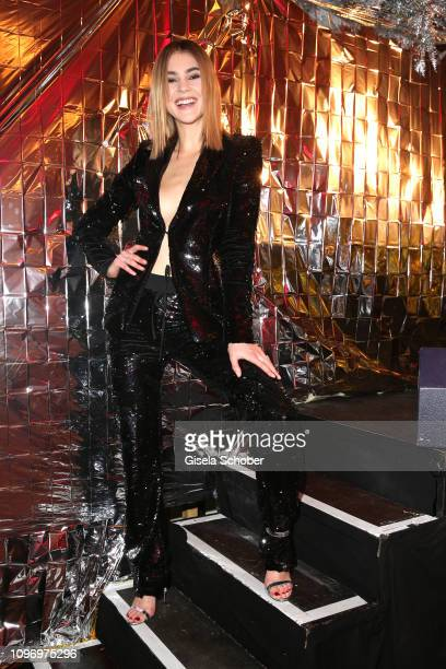 Stefanie Giesinger during the PLACE TO B Berlinale party of BILD at Borchardt Restaurant on February 9 2019 in Berlin Germany