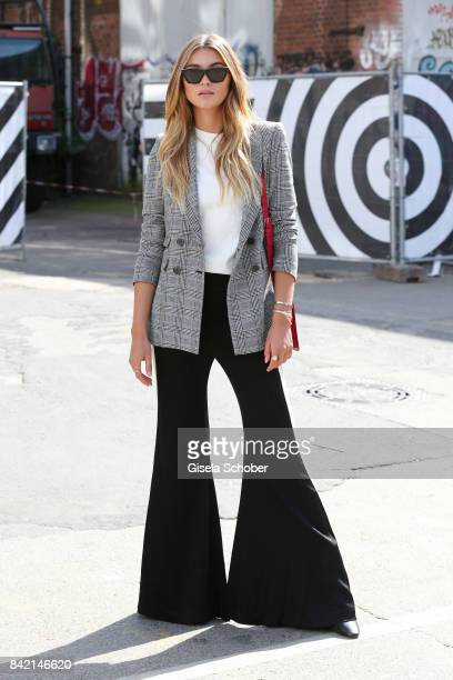 Stefanie Giesinger poses for photographs during the Bread Butter by Zalando 2017 at arena Berlin on September 3 2017 in Berlin Germany