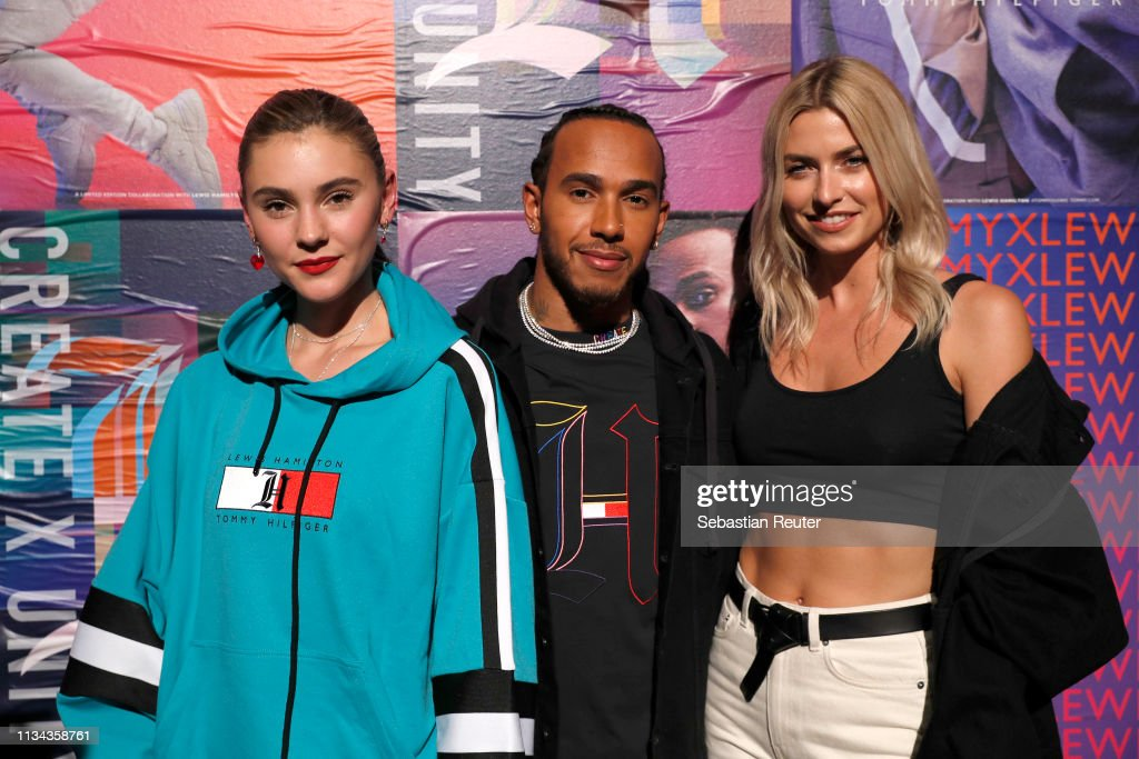 """Tommy Hilfiger """"CREATE X UNITY"""" Launch Event With Lewis Hamilton In Berlin : News Photo"""