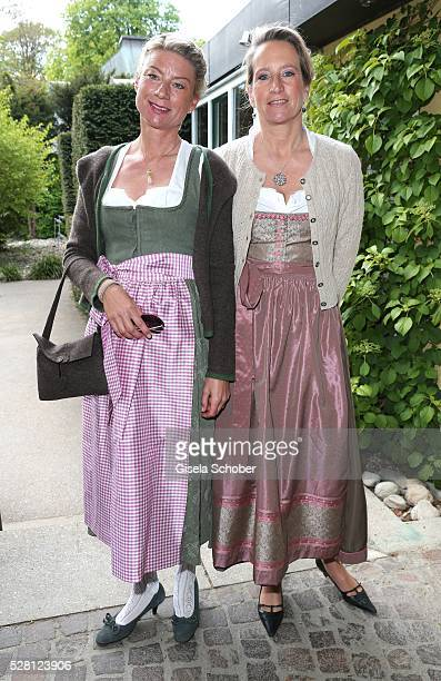Stefanie Haag daughter of Angela Wepper and Ferfried von Hohenzollern half sister of Sophie Wepper and her sister Valerie Brenske daughter of Angela...