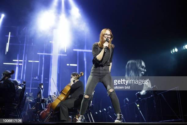 Stefanie Heinzmann - die Schweizer Pop- und Soulsaengerin live bei the Night Of The Proms - das Musik-Event mit Il Novecento unter der Leitung der...