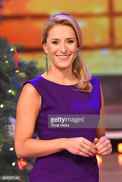 Stefanie Hertel Presents 'Die grosse Show der Weihnachtslieder' on November 18 2016 in Suhl Germany