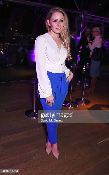 Stefanie Jones attends a cocktail party hosted by haircare brand John Frieda to celebrate the launch of their 2015 products at Oxo Tower Wharf on...
