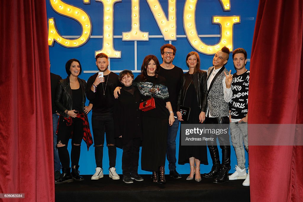 'Sing' European Premiere In Cologne