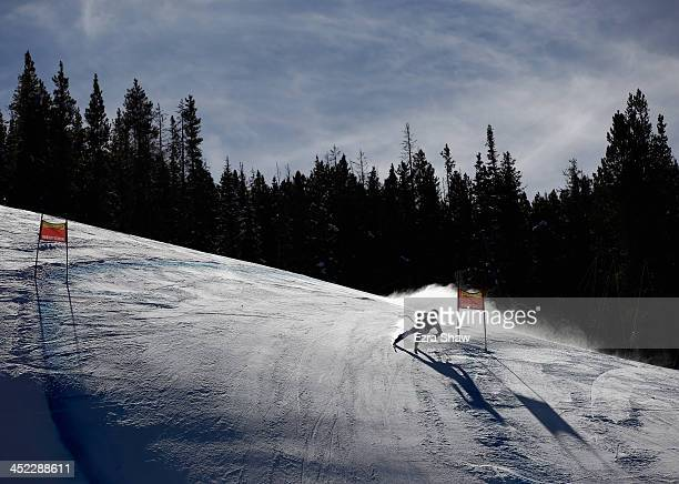 Stefanie Koehle of Austria in action during day 2 of training on Raptor for the FIS Beaver Creek Ladies Downhill World Cup on November 27 2013 in...