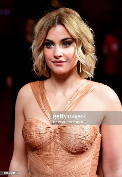 Stefanie Martini attending the Rakuten TV Empire Awards 2018 at the Roundhouse London