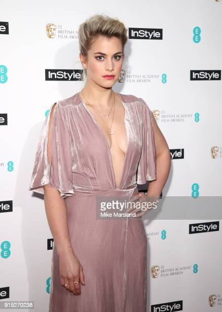 Stefanie Martini attends the EE InStyle Party held at Granary Square Brasserie on February 6 2018 in London England