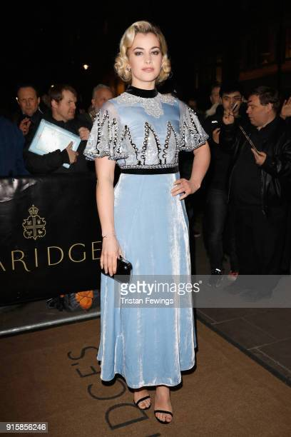 Stefanie Martini attends the Evening Standard British Film Awards at Claridges Hotel on February 8 2018 in London England