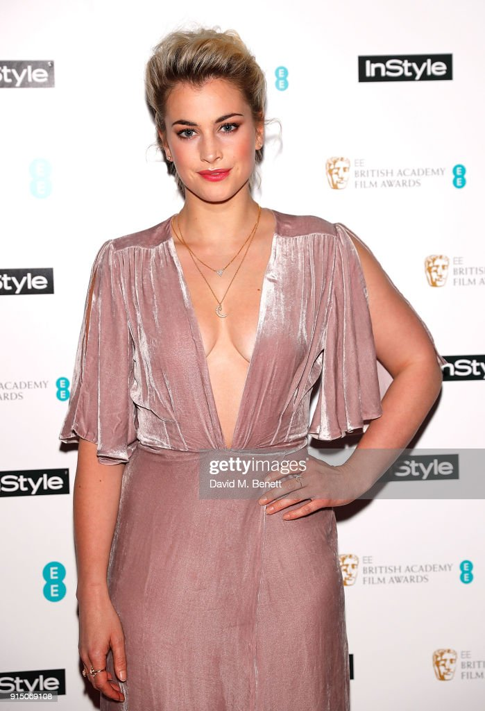 Stefanie Martini At InStyle EE Rising Star Party Ahead Of
