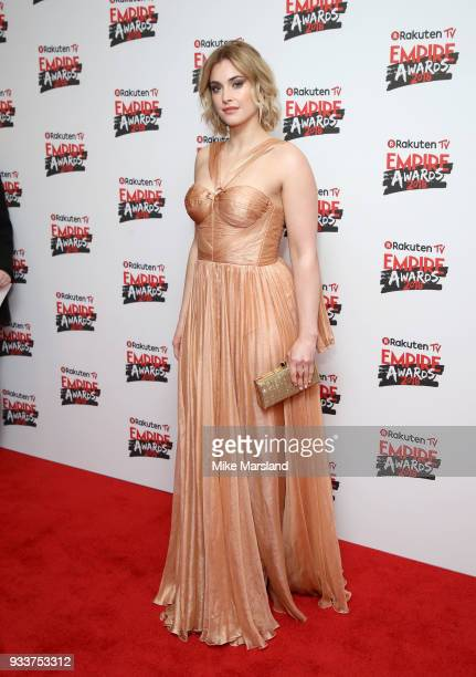Stefanie Martini attends the Rakuten TV EMPIRE Awards 2018 at The Roundhouse on March 18 2018 in London England