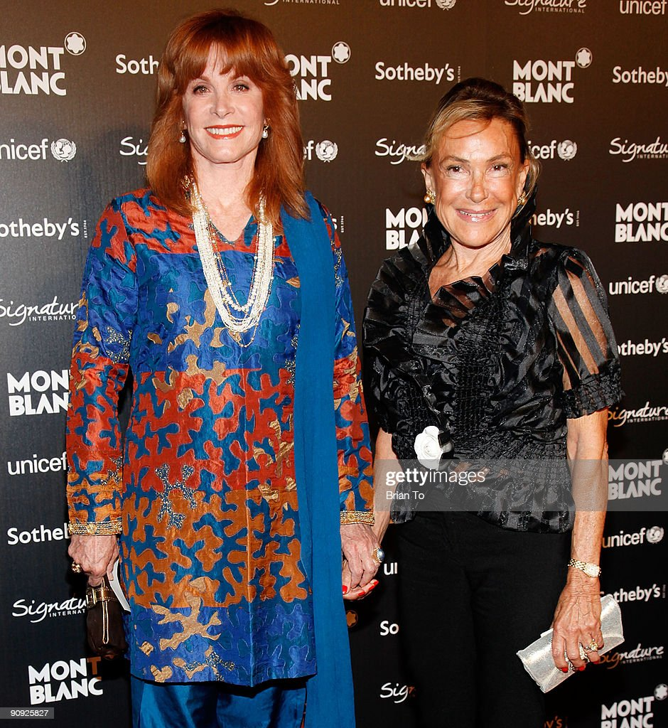 Montblanc Celebrity Auction And Dinner Benefiting UNICEF