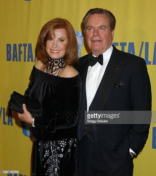 Stefanie Powers and Robert Wagner during 12th Annual BAFTA/LA Britannia Awards at Century Plaza Hotel in Century City California United States