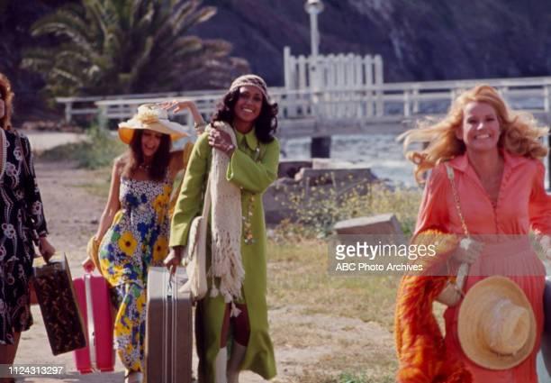 Stefanie Powers, Anjanette Comer, Denise Nicholas, Julie Sommars appearing in the Walt Disney Television via Getty Images tv movie 'Five Desperate...