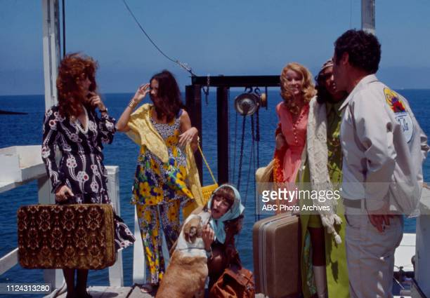 Stefanie Powers, Anjanette Comer, Julie Sommars, Denise Nicholas, Bradford Dillman, Joan Hackett appearing in the Walt Disney Television via Getty...