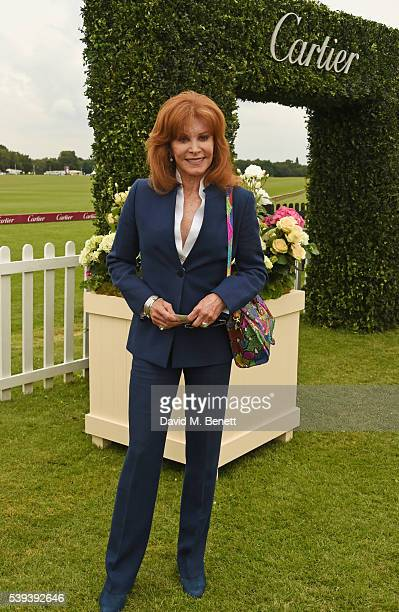 Stefanie Powers attends The Cartier Queen's Cup Final at Guards Polo Club on June 11 2016 in Egham England