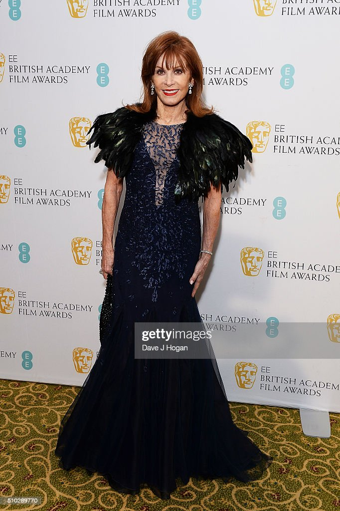 Stefanie Powers attends the official After Party Dinner for the EE British Academy Film Awards at The Grosvenor House Hotel on February 14, 2016 in London, England.