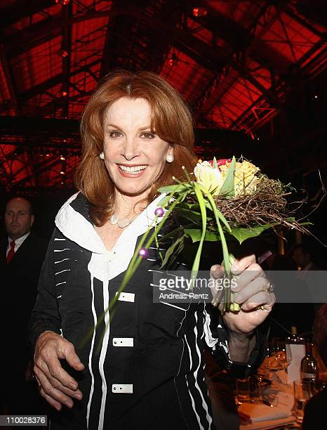 Stefanie Powers attends the Steiger Award 2011 at the Jahrhunderthalle on March 12 2011 in Bochum Germany