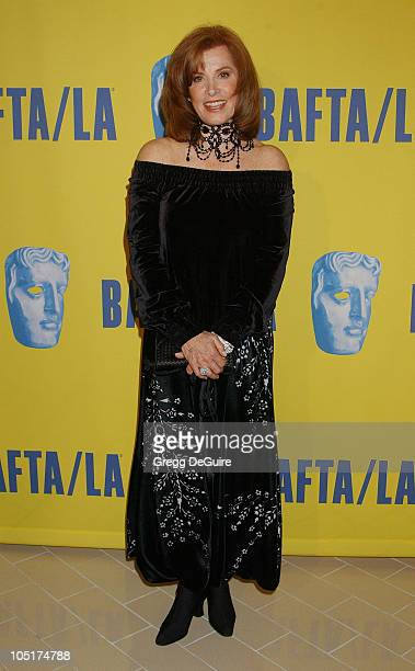 Stefanie Powers during 12th Annual BAFTA/LA Britannia Awards at Century Plaza Hotel in Century City California United States