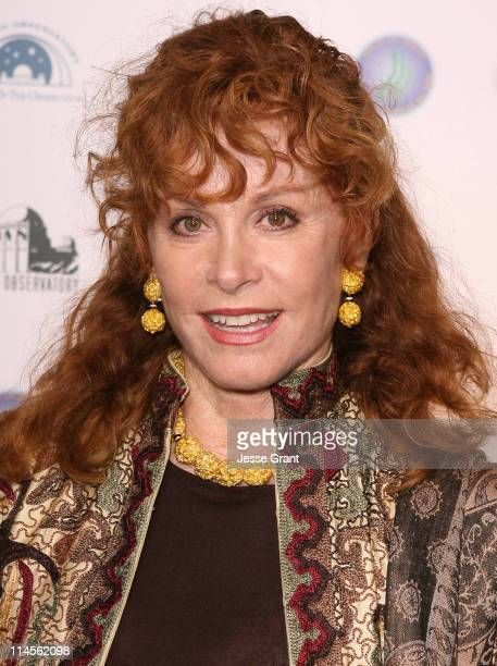 Stefanie Powers during Griffith Observatory ReOpening Galactic Gala at Griffith Observatory in Los Angeles CA United States
