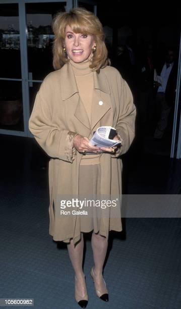 Stefanie Powers during Hollywood Park Fundraiser for AIDS Foundation November 22 1992 at Hollywood Park in Los Angeles California United States