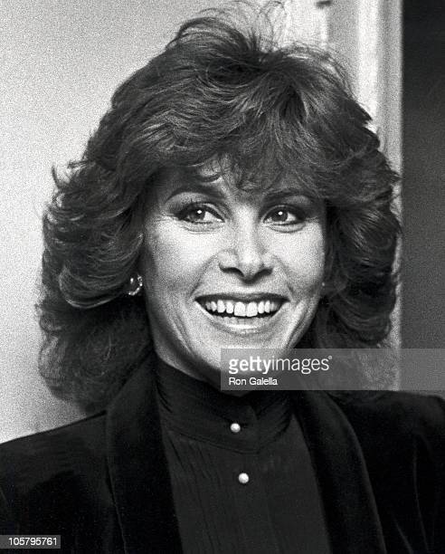Stefanie Powers during Natural's Press Conference October 9 1982 at Regine's in New York City New York United States