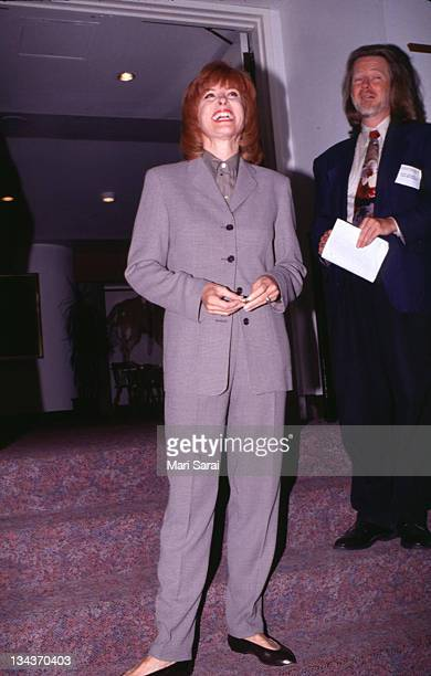 Stefanie Powers during Paper Mill Playhouse Sept1996 at Paper Mill Playhouse in Millburn New Jersey United States