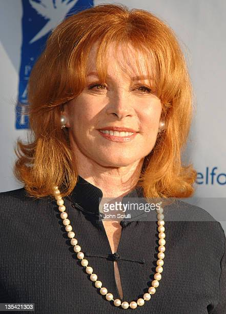 Stefanie Powers during Project Angel Food Awards Dinner Arrivals at Project Angel Food in Hollywood California United States