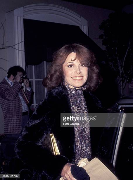 Stefanie Powers during Stefanie Powers' African Art Display at Feingarten Gallery in Los Angeles California United States