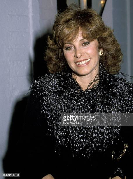 Stefanie Powers during Stefanie Powers Sighting at Chasen's Restaurant in Beverly Hills February 1 1983 at Chasen's Restaurant in Beverly Hills...